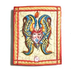 Butterfly King Amulet A2 Asrom Sathan Kruba Krissana