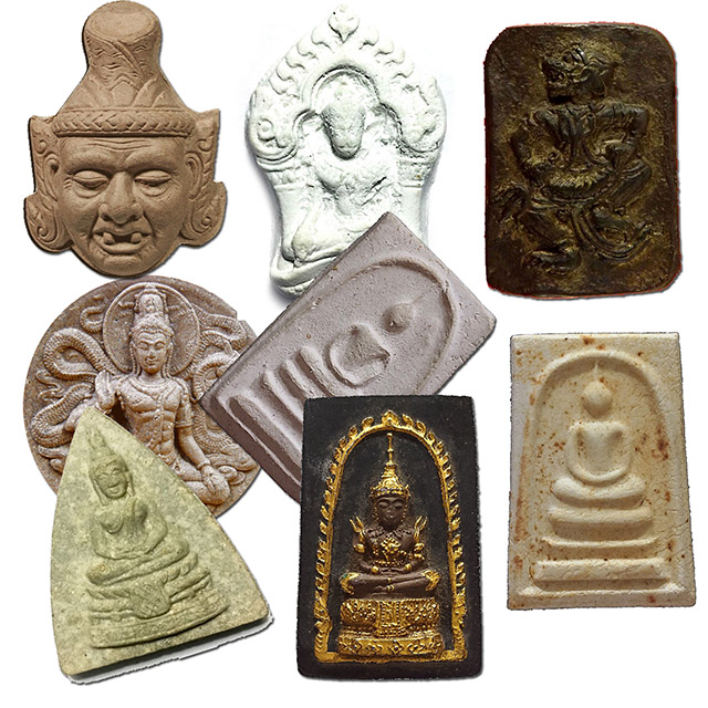 Clay Amulets
