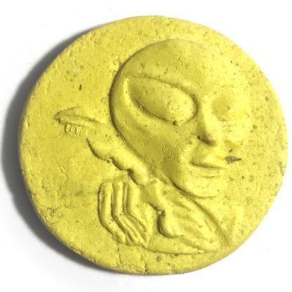 Friendly Alien UFO Amulet Meteorite Powders - Pra Ajarn Song