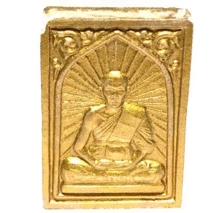 Pra Roop Muean Pong Prai Kumarn Luang Por Sakorn 2548 BE Gold Leaf Pink Powders Silver Takrut