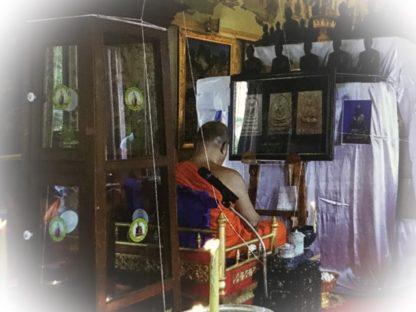 Amulet Blessing Ceremony Buddha Abhiseka Ruay Ngern Larn Edition 2560 BE Wat Bang Khun Prohm