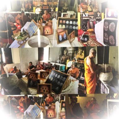 Buddha Abhiseka Amulet Blessing Rian Lor LP Moon Tithasilo Wat Ban Jan 2560 BE